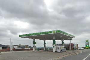 The BP petrol station in Coventry Road in Southam. Photo bu Google Street View.