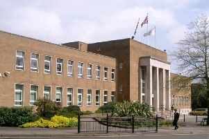 Rugby Town Hall, where the decision was made.