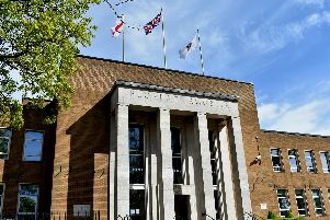 Rugby Town Hall.