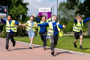 Safer walks to school for young brightsparks at Cawston