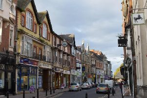 Rugby town centre, file image.