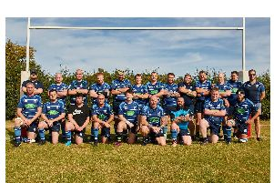 Rugby St Andrews 2nd XV before their game with Harbury
