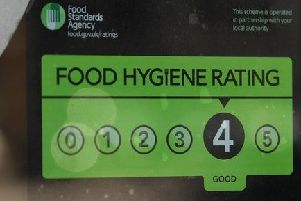 One in ten food businesses in Rugby not meeting hygiene standards