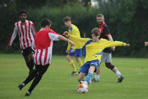 Daniel Frodsham in Brinklow Under 15s' win over CTK