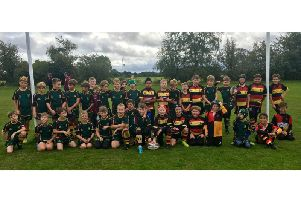 Old Laurentians Under 10s with their friends from Old Coventrians on Sunday