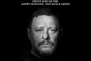 Indie legend Shaun Ryder is coming to Rugby
