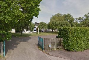 The school's temporary Anderson Avenue site. Photo: Google Streetview.