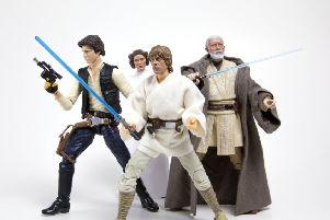 Do you have valuable Star Wars toys in the attic?
