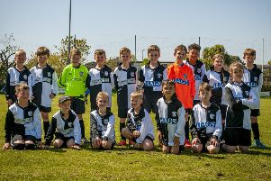 The East Preston FC Academy's under-nine Blacks and Whites squads