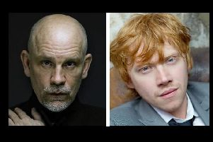 John Malkovich and Harry Potter actor Rupert Grint are among the cast. Photo courtesy of BBC.