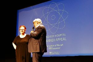 Jo Brand's gig in aid of the Conquest Hospital's MRI Scanner Appeal. Photo by Sid Saunders. SUS-180627-130105001