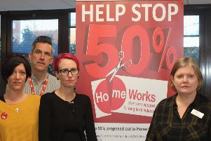 Home Works campaigned against the proposed funding cuts