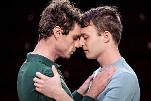 Matthew Needham as M and Luke Thallon as John  �The Other Richard