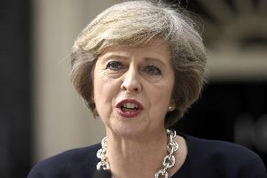Prime Minister Theresa May. Photo: Johnston Press