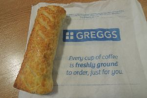 Greggs vegan sausage rolls are available in a number of stores today
