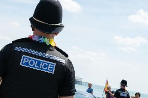 Sussex Police was named one of the most LGBT-inclusive employers in the country by Stonewall