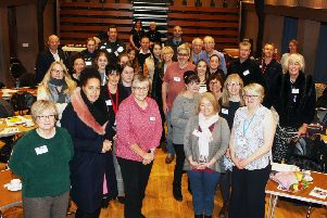 Action on Elder Abuse's West Sussex launch at Southwick Community Centre. Picture: Derek Martin DM1921099a
