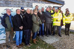 Work begins on new Discovery Centre at Rye Harbour Nature Reserve