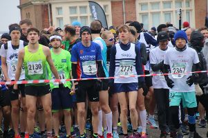 Hastings Half Marathon 2018. Photo by Roberts Photographic SUS-180319-123055001