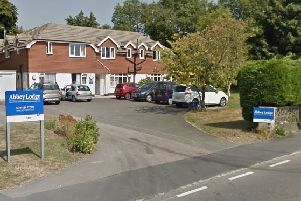 Abbey Lodge Care Home, Hastings Road. Photo courtesy of Google Street View. SUS-190329-102007001