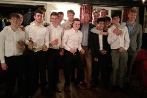 Sedlescombe Rangers Football Club's under-18 team