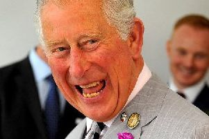 HRH Prince Charles visits L3Harris London Training Centre in Crawley.