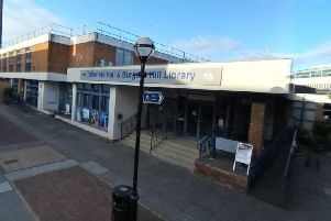 The Burgess Hill Library has banned a Christian group. Picture: Google