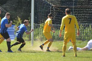 Alan Foster gave Hollington United the lead