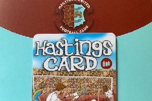 The Hastings card