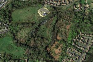 The Blackfriars site near Battle. Picture: Google Earth