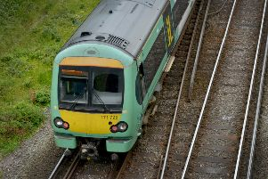 Trains are being disrupted