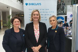 Amber Rudd at Jobs Fair SUS-190810-095852001