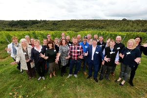 East Sussex food and wine producers at Rathfinny wine estate