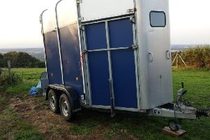 Trailer Stolen from Ore. Photo: Rother Police/Twitter
