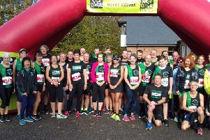 Hastings runners at the Beckley 10K. Picture contributed by the Hastings Runners