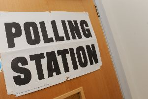 4/5/2017 (NEWS)''Polling Station at Bedhampton Social Hall. ''Picture: Sarah Standing (170583-6964) PPP-170405-151254001
