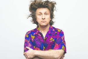 Milton Jones stars in Milton Impossible. Photo by Aemen Sukkar