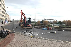 Hastings seafront roadworks update 1 SUS-200117-075508001