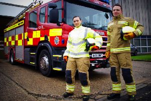 New West Sussex Fire service kit