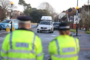 Sussex Police officers