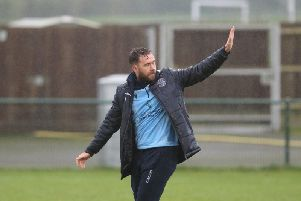 Hastings United manager Chris Agutter. Photo by Scott White