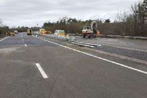 The finishing touches of the major A21 works. Picture: Highways England