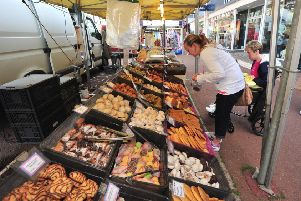 17/5/14- Bexhill Anglo-continental Market. SUS-140517-183353001
