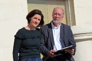 Labour's Beccy Cooper and Jim Deen