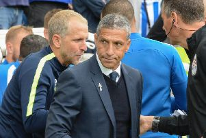 Chris Hughton. Picture by PW Sporting Pics