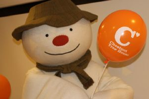 Themes and emotions of The Snowman story ' emphasising happy times and creating memories rather than the sad ending ' made the character the ideal ambassador for a children's hospice