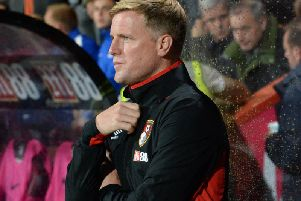 Eddie Howe. Picture by Phil Westlake (PW Sporting Photography)