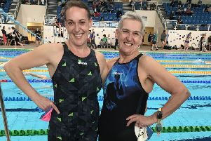 Lisa Mills (left) with her mother Sally (right)