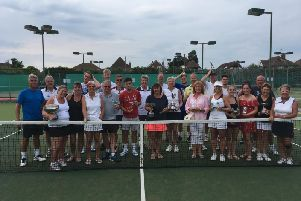 Angmering's annual club championship proved to be a smash hit