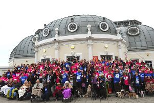 Guild Care's flagship event, Walk to Remember, on Worthing seafront last year
